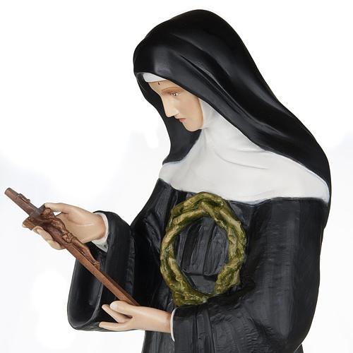 Santa Rita da Cascia 100 cm fiberglass 3