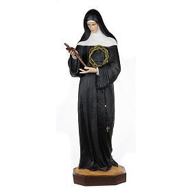 Saint Rita of Cascia,  fiberglass statue, 100 cm s1