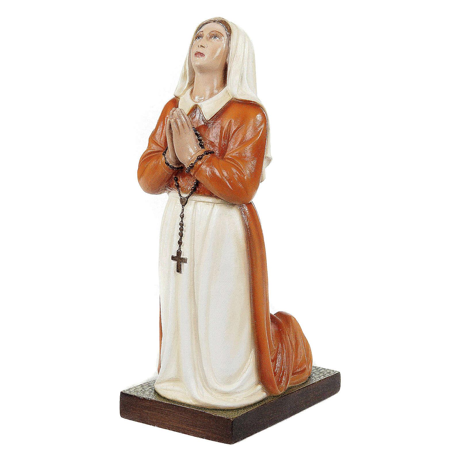 Sainte Bernadette 35 cm statue fibre de verre 4