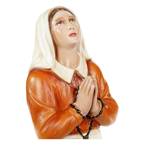 Sainte Bernadette 35 cm statue fibre de verre 2
