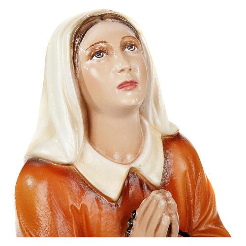 Sainte Bernadette 35 cm statue fibre de verre 3