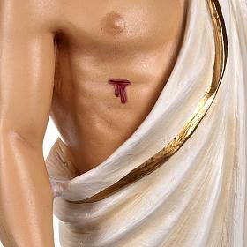 Cristo resucitado 85 cm fibra de vidrio s9