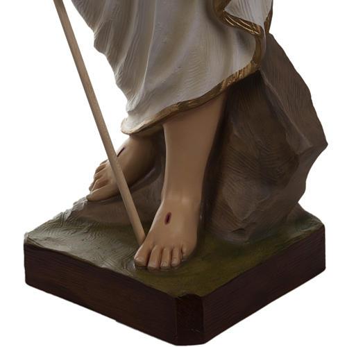 Cristo resucitado 85 cm fibra de vidrio 5