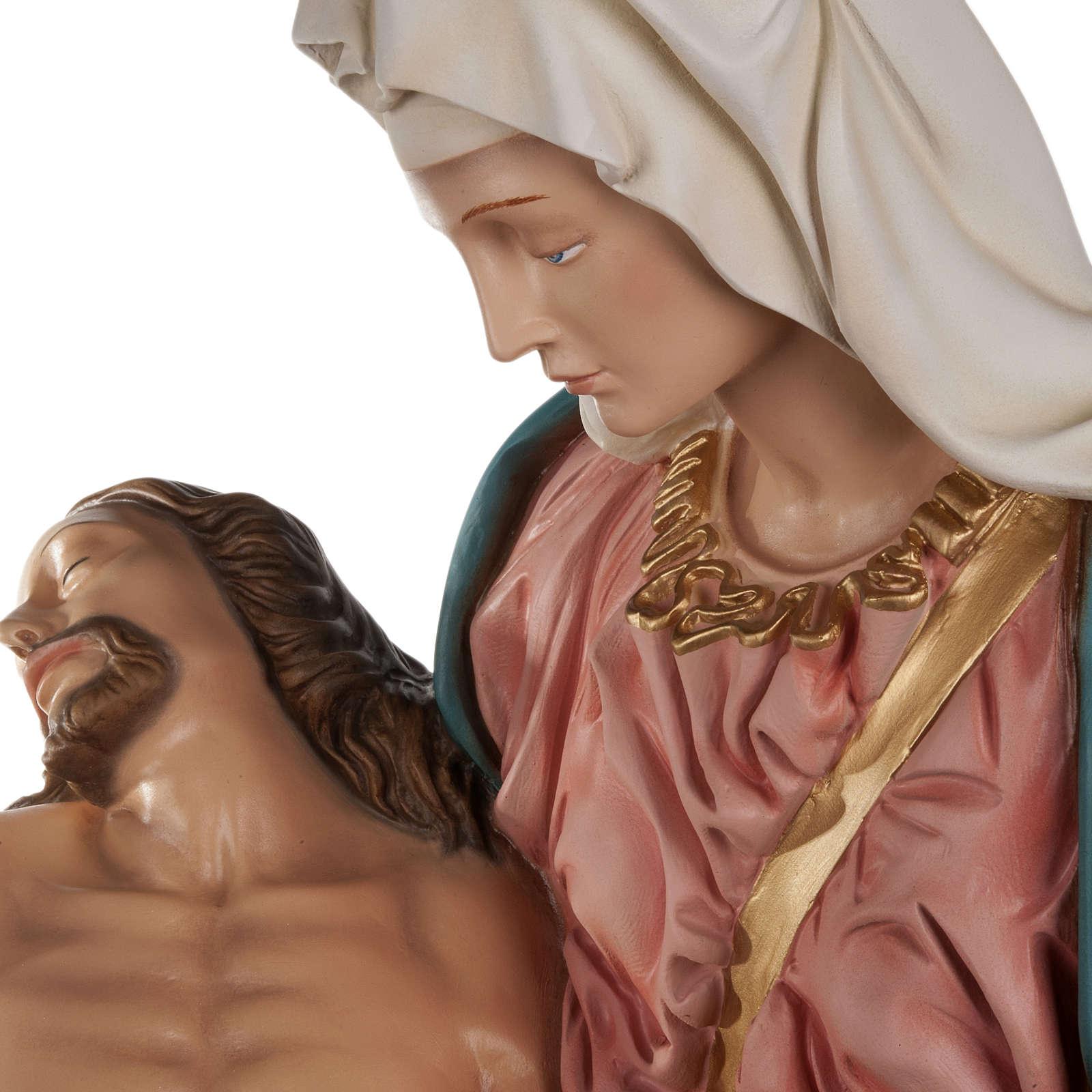 Pietà di Michelangelo fiberglass 100 cm 4