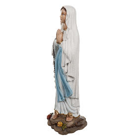 Our Lady of Lourdes,  fiberglass statue, 50 cm s6