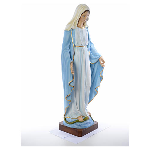 Virgen Inmaculada 130cm fibra de vidrio 8