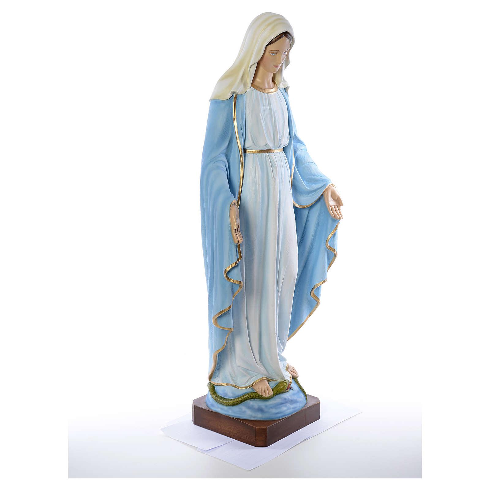Madonna Immacolata vetroresina 130 cm 4