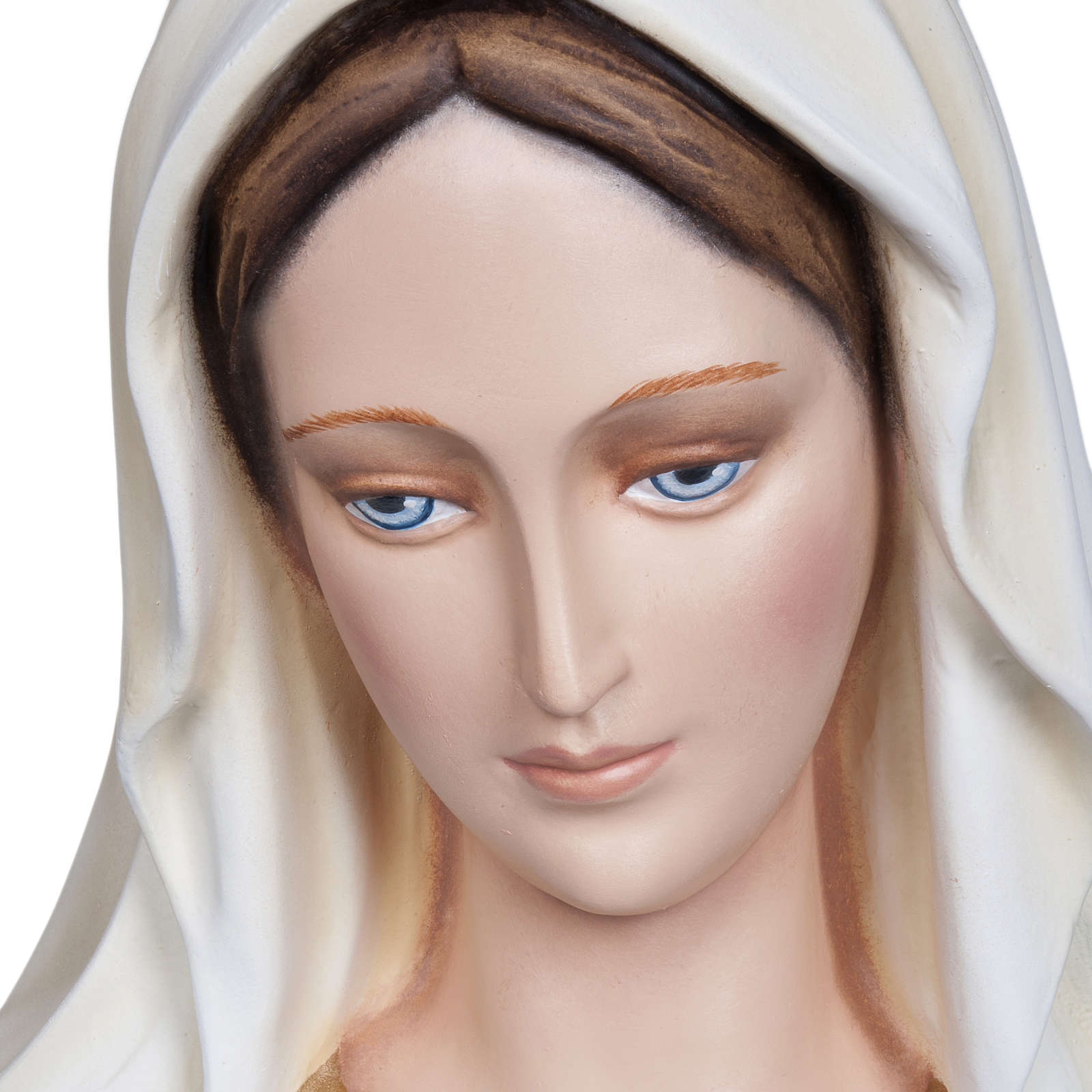 our Lady Immaculate, fiberglass statue, 130 cm 4