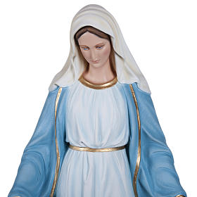 our Lady Immaculate, fiberglass statue, 130 cm s4