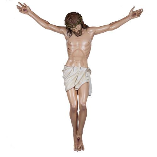 Corps du Christ 160 cm fibre de verre 1