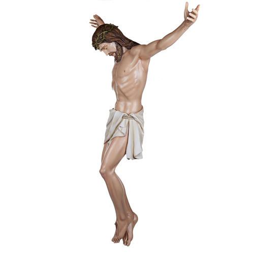 Corps du Christ 160 cm fibre de verre 8