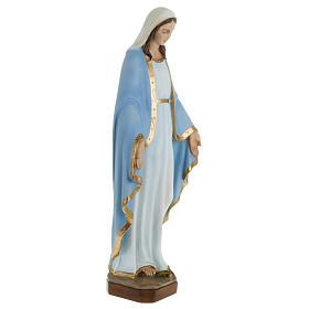 Estatua de la Milagrosa con manto azul 60 cm s4