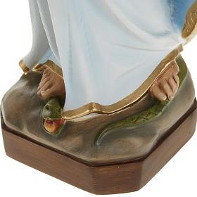 Estatua de la Milagrosa con manto azul 60 cm s6