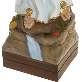 Our Lady of Lourdes, fiberglass statue, 70 cm s4