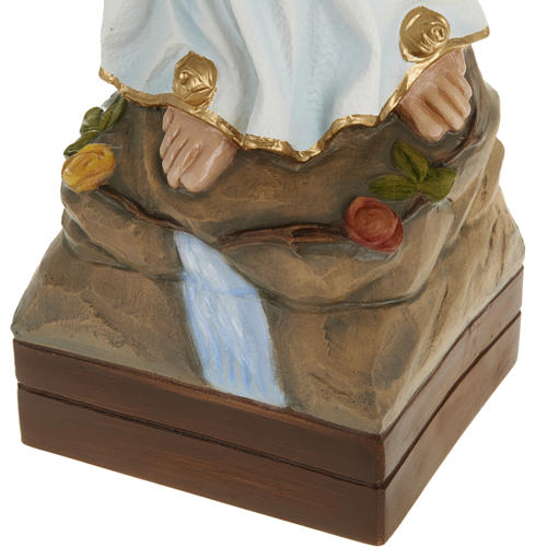 Our Lady of Lourdes, fiberglass statue, 70 cm 4