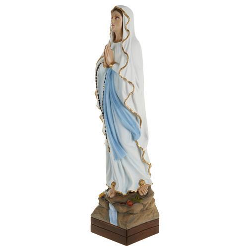 Our Lady of Lourdes, fiberglass statue, 70 cm 5