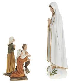 Estatua de la Virgen de Fátima 60 cm en fibra de vidrio s8