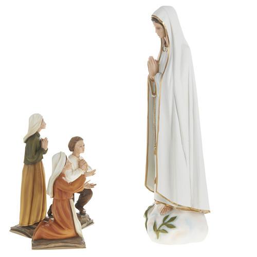 Estatua de la Virgen de Fátima 60 cm en fibra de vidrio 8