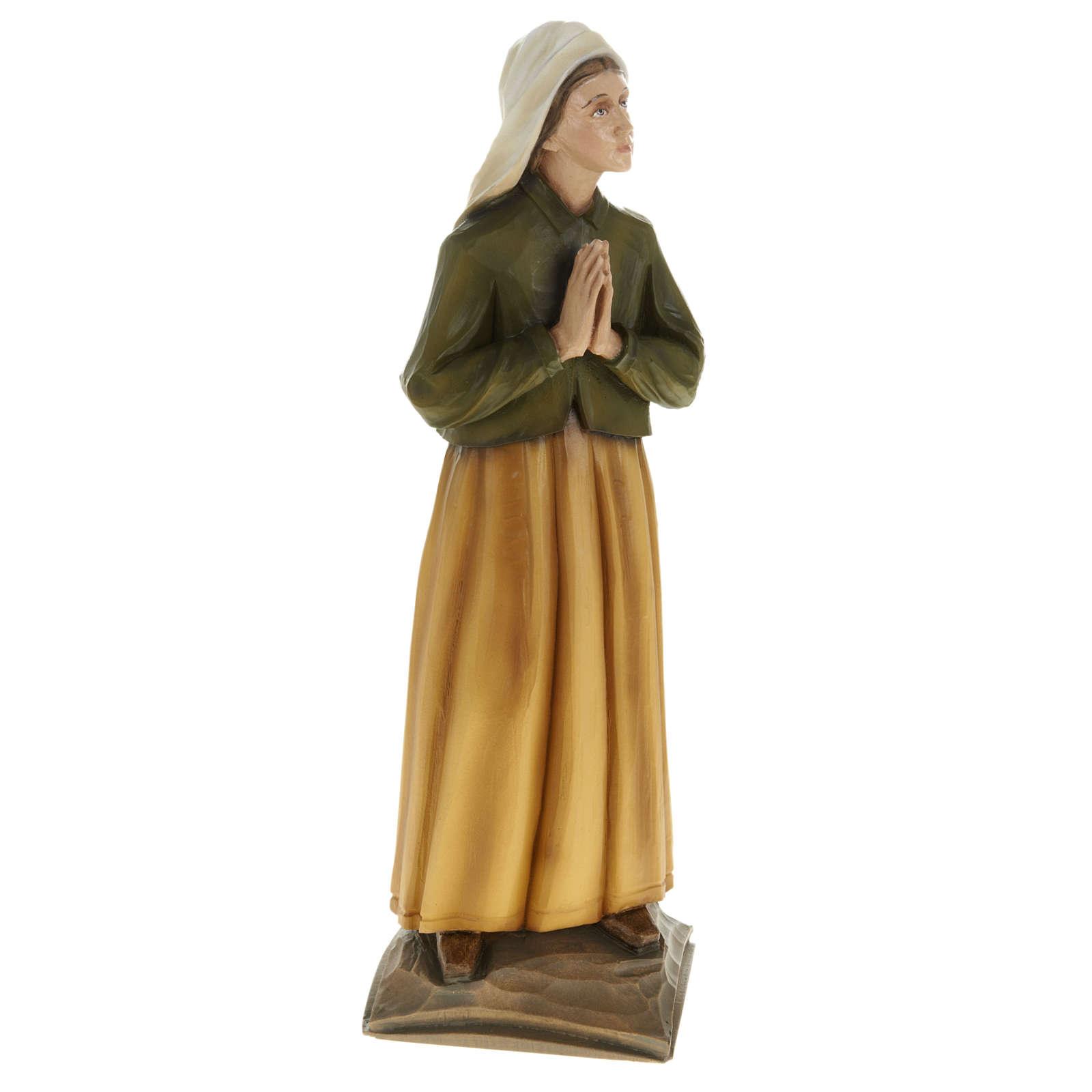 Pastorelli di Fatima 3 statue marmo sintetico 35 cm 4