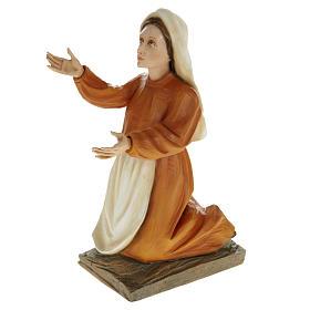 Pastorelli di Fatima 3 statue marmo sintetico 35 cm s3