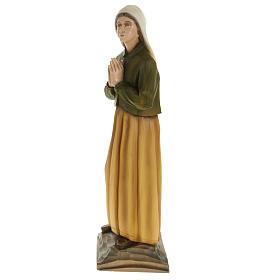Pastorelli di Fatima 3 statue marmo sintetico 35 cm s7