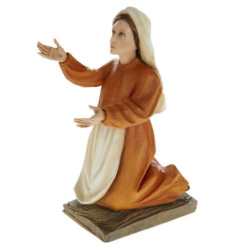 Pastorelli di Fatima 3 statue marmo sintetico 35 cm 3