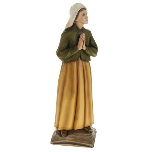 Pastorelli di Fatima 3 statue marmo sintetico 35 cm 6