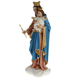 Mary queen of heaven with infant Jesus,fiberglass statue 80 cm s9