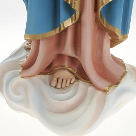 Mary queen of heaven with infant Jesus,fiberglass statue 80 cm s10