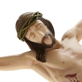 Statue Corps du Christ 80 cm fibre de verre s6