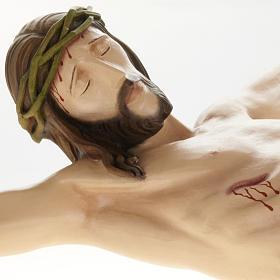 Statue Corps du Christ 80 cm fibre de verre s7