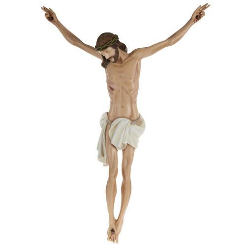 Statue Corps du Christ 80 cm fibre de verre 1
