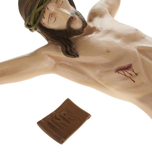 Statue Corps du Christ 80 cm fibre de verre 10