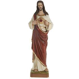 Estatua del Sagrado Corazón de Jesús 80 cm s1