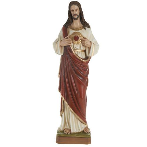 Estatua del Sagrado Corazón de Jesús 80 cm 1