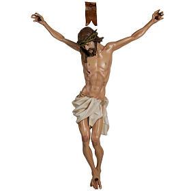 Cuerpo de Cristo  100 cm en fibra de vidrio s1