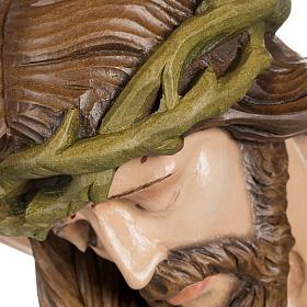 Cuerpo de Cristo  100 cm en fibra de vidrio s9