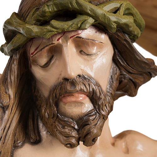 Cuerpo de Cristo  100 cm en fibra de vidrio 2