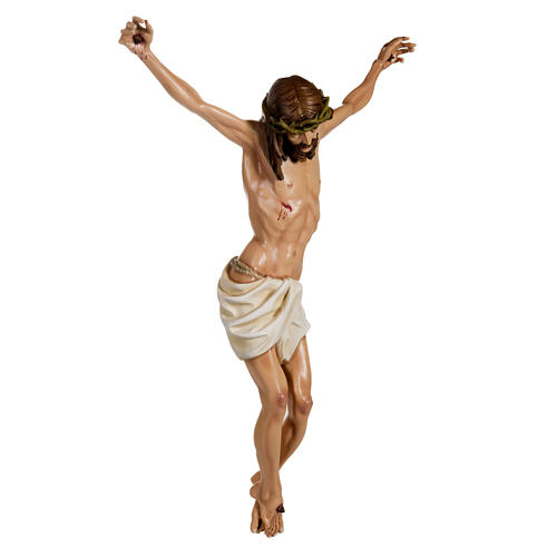 Cuerpo de Cristo  100 cm en fibra de vidrio 6
