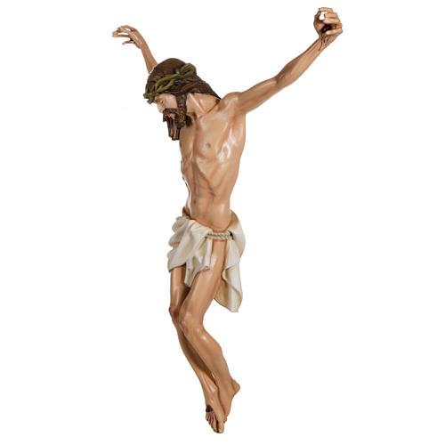 Cuerpo de Cristo  100 cm en fibra de vidrio 7