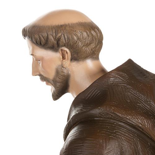 San Francesco con colombe 80 cm fiberglass 10