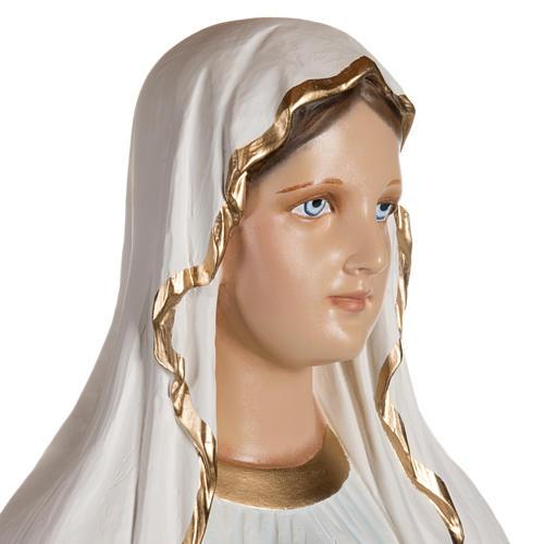 Nuestra Señora de Lourdes 130 cm en fibra de vidrio 5