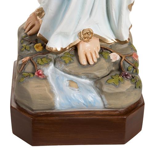 Madonna di Lourdes vetroresina 130 cm 2
