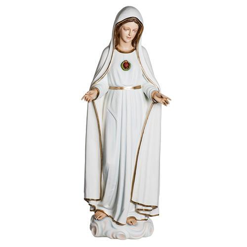 Fiberglas Madonna von Fatima 120 cm