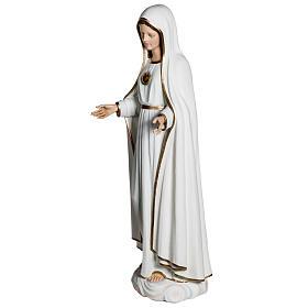 Virgen de Fátima 120 cm en fibra de vidrio s7