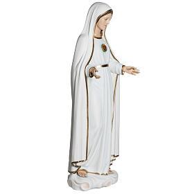 Virgen de Fátima 120 cm en fibra de vidrio s10
