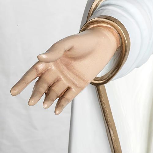 Virgen de Fátima 120 cm en fibra de vidrio 5