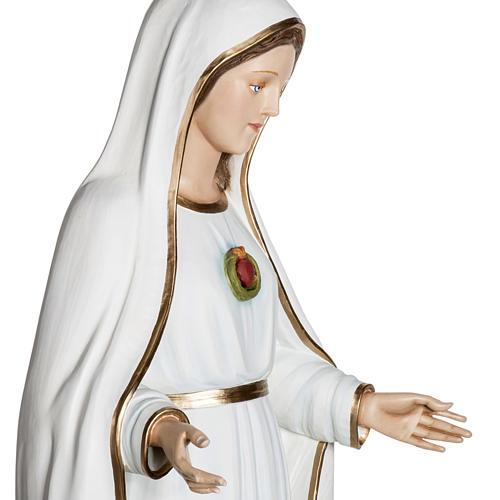 Notre-Dame de Fatima 120 cm fibre de verre 11