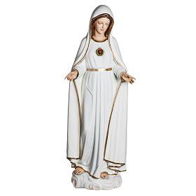 Nossa Senhora de Fátima 120 cm fibra de vidro