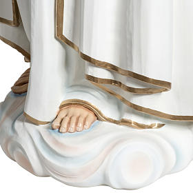 Nossa Senhora de Fátima 120 cm fibra de vidro s9
